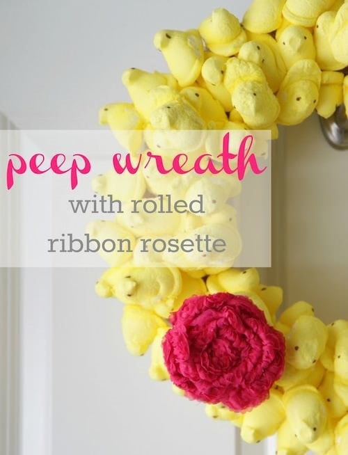 DIY_Peep_Wreath
