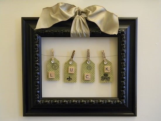 Framed Luck Tags