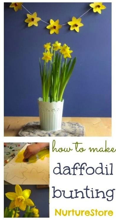 spring-craft-daffodil-bunting
