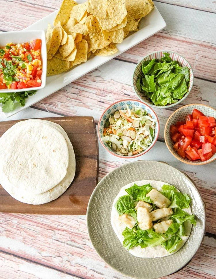 10 Minute Fish Tacos Topping Ideas