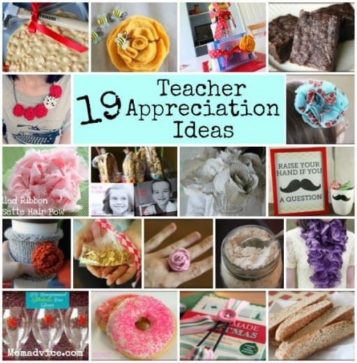 19 Awesome Ways to Show Teacher Appreciation