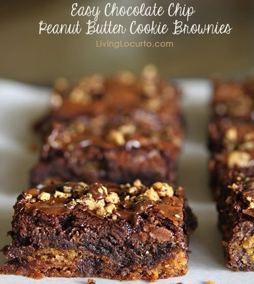 Chocolate-Peanutbutter-Brownies