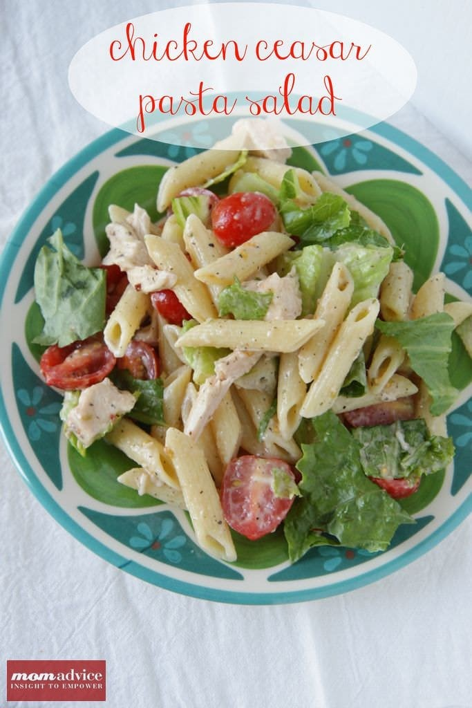 Chicken Ceasar Pasta Salad