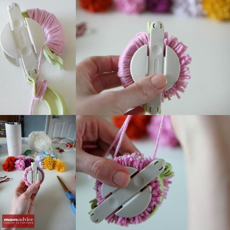 How to Use the Clover Pom-Pom Maker
