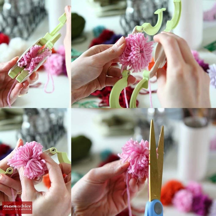 How to Use the Clover Pom-Pom Maker