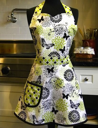 green-black-apron