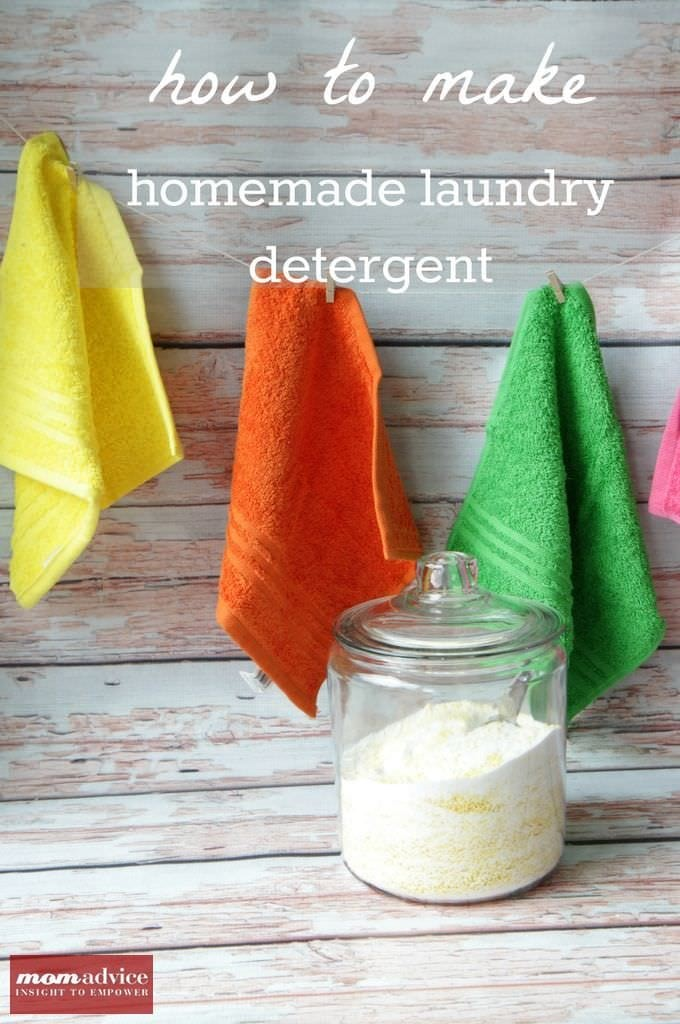 How to Make Homemade Laundry Detergent (A Picture Tutorial)