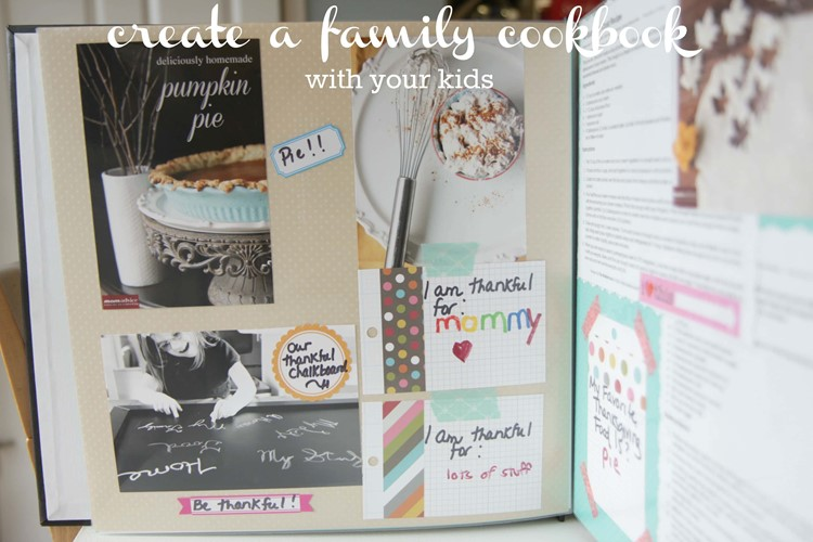 Create a Family Cookbook from MomAdvice.com