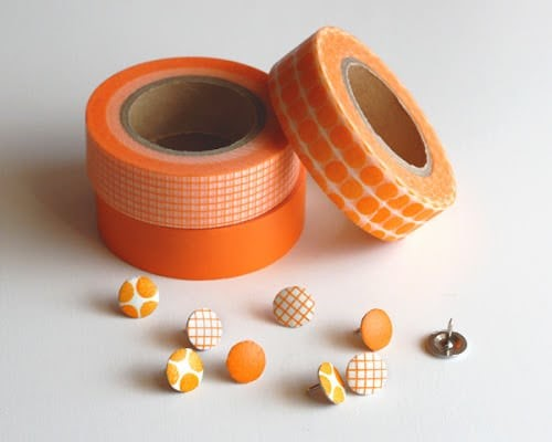 washi tape thumbtacks