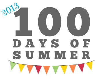 100 Days of Summer Pinterest Board- 2013 Edition!