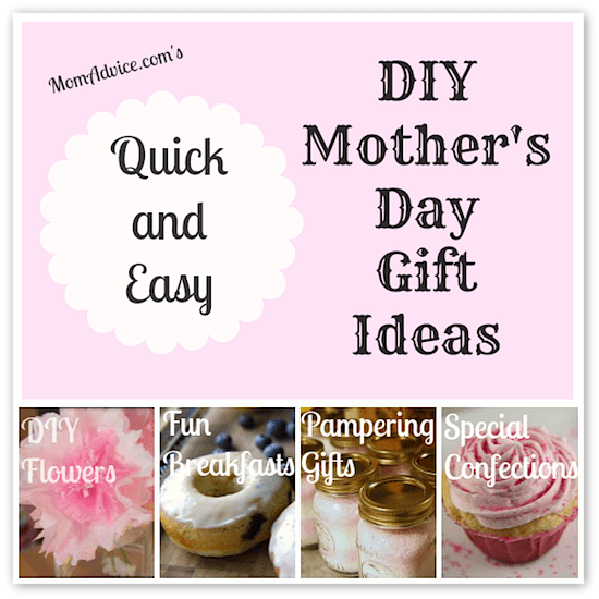 Quick and Easy Mothers Day Ideas