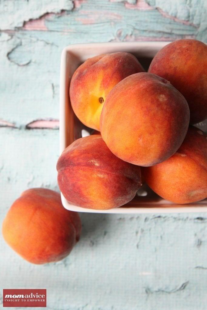 Fresh Peach Sorbet