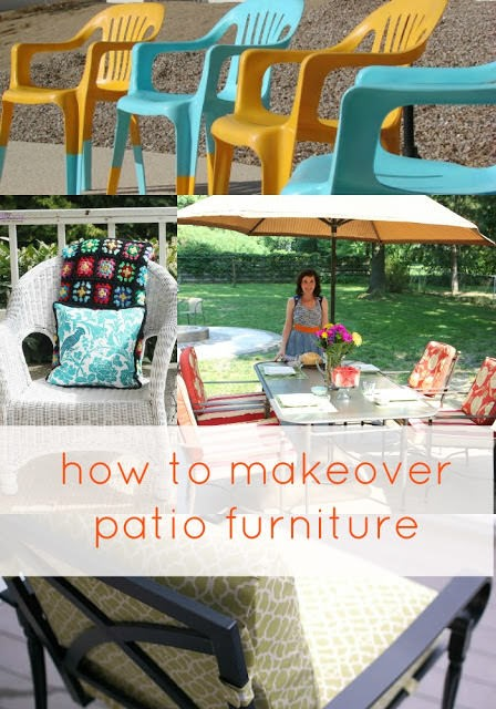 Easy Tips for Making Over Patio Furniture