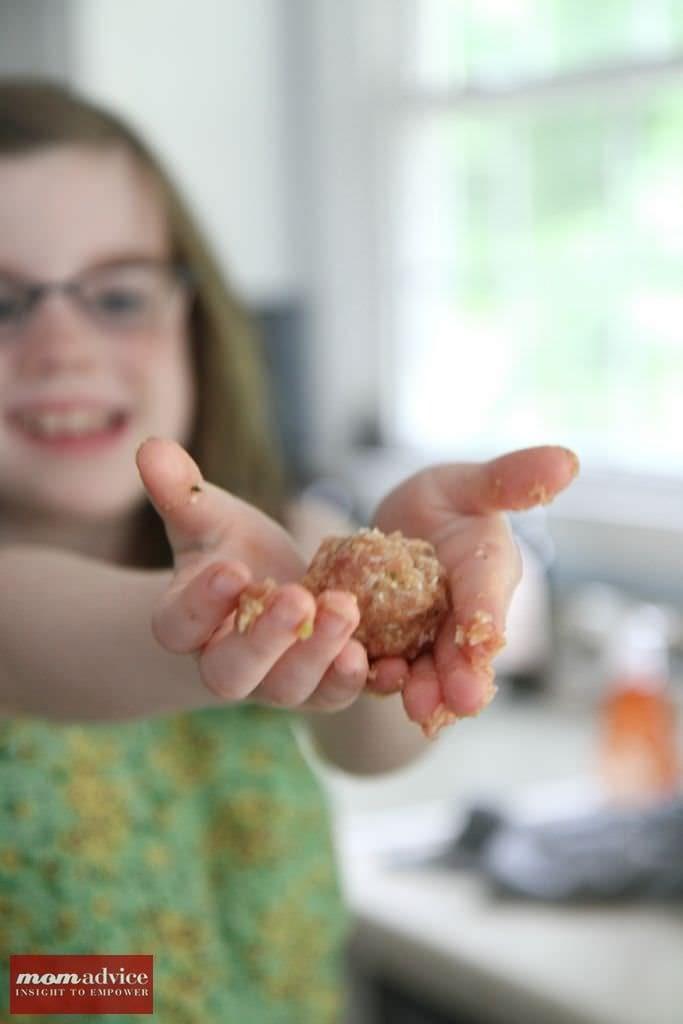 Rotini With Turkey Meatballs