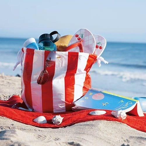 duct tape beachbag