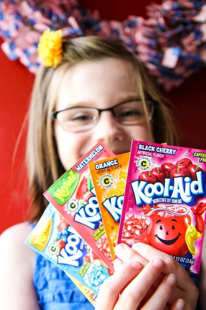 Kool-Aid Packets for Homemade Slushies