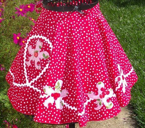 pink dot apron