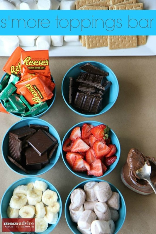 Summer Party Fun: How to Host a S'more Toppings Bar ...