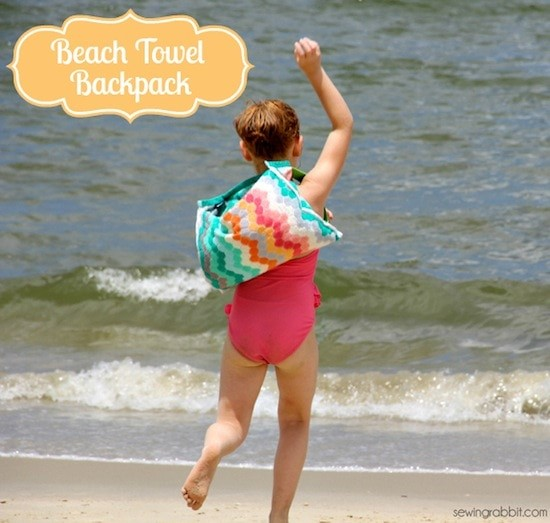 Beach-Towel-Backpack