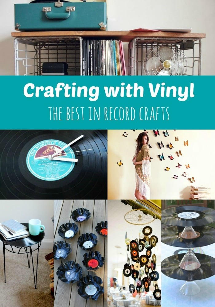 Crafting with vinyl from MomAdvice.com