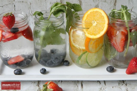 Fruit Infused Water :: MomAdvice.com