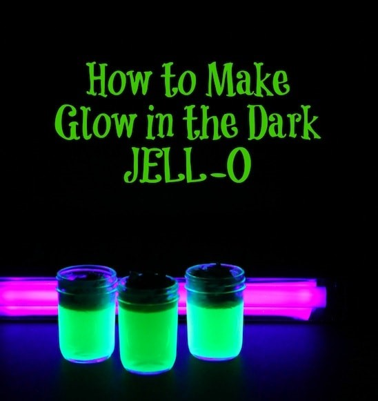 How to Make Glow In the Dark JELL-O