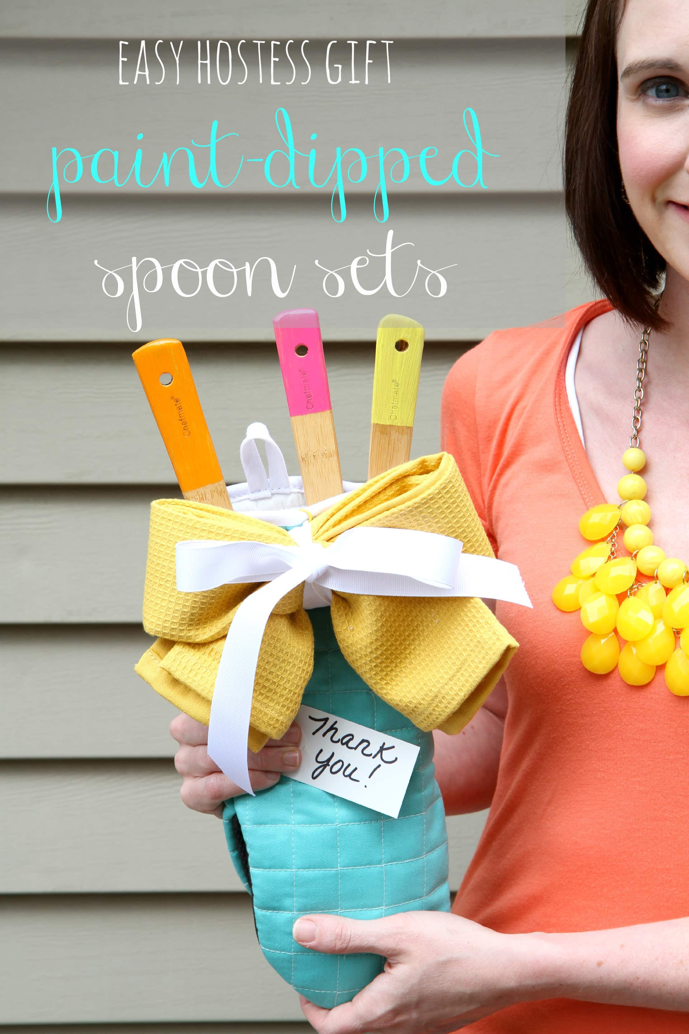 Neon Paint Dipped Spoon Set
