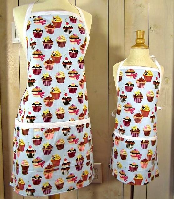 cupcake-apron-set