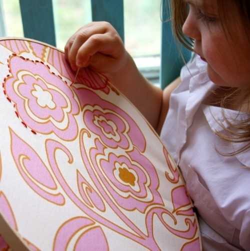 Kid easy embroidery