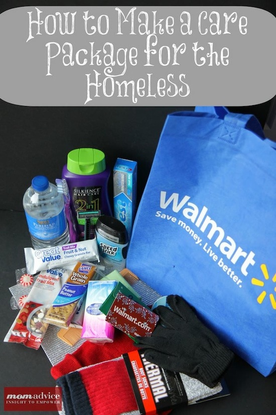 How to Make a Care Package for the Homeless