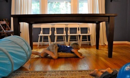 indoor obstacle