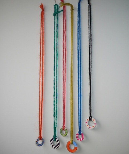 Recycled necklaces