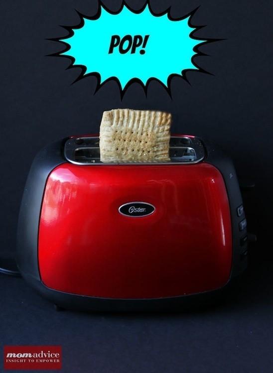 whole wheat toaster tart
