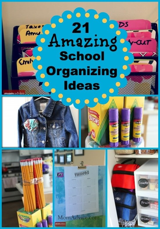 21 back to school organizing ideas momadvice