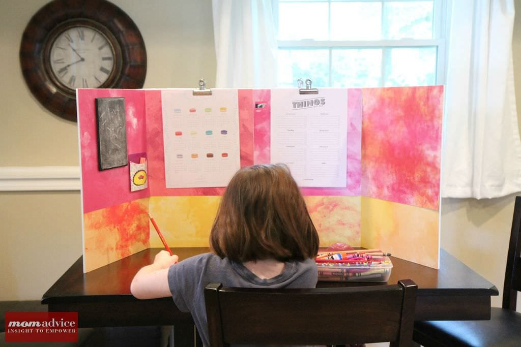 DIY Homework Study Station
