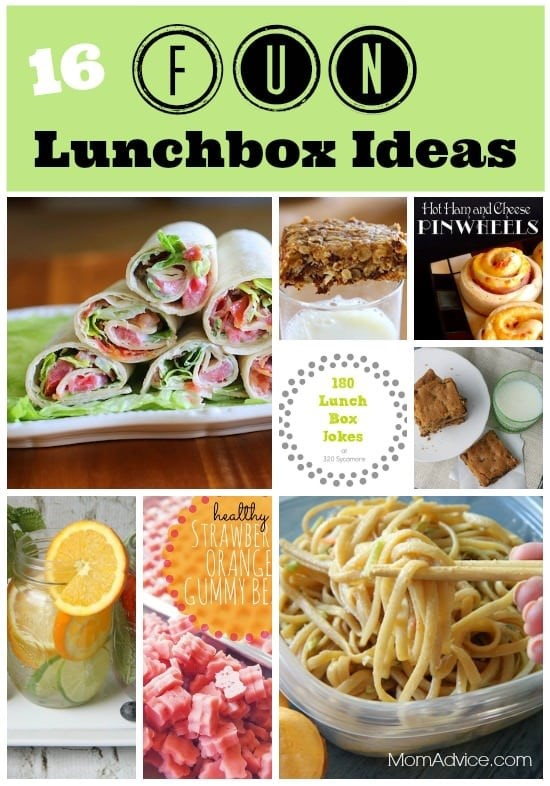 Lunchbox Fun for Back-To-School