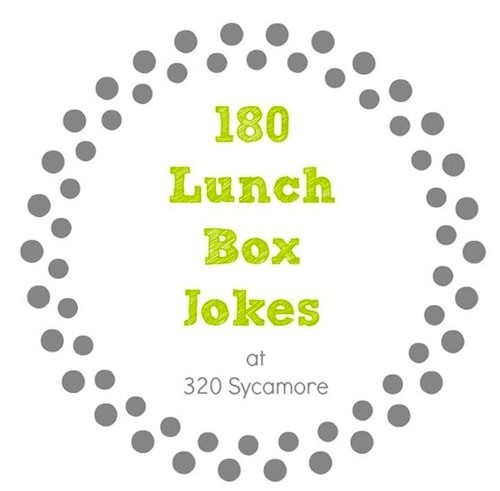 Lunchbox jokes printables