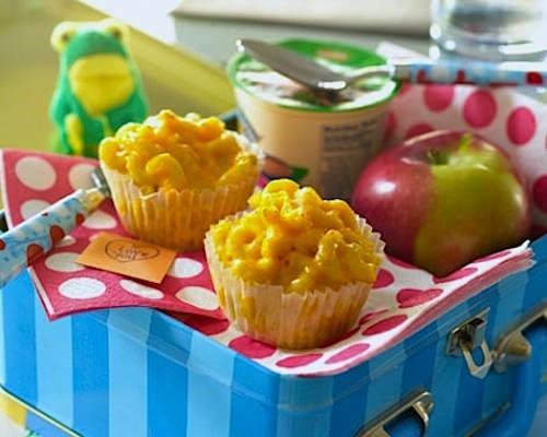 Mac-n-cheese muffins
