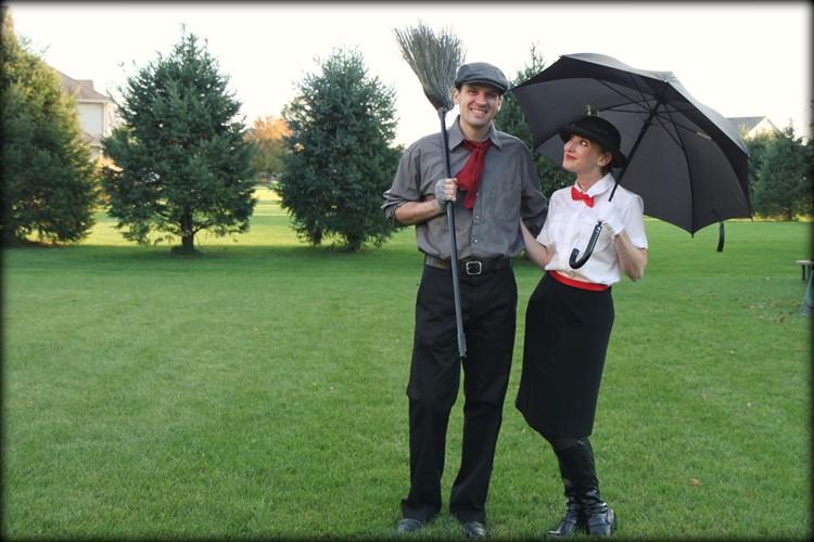 Mary Poppins & Burt