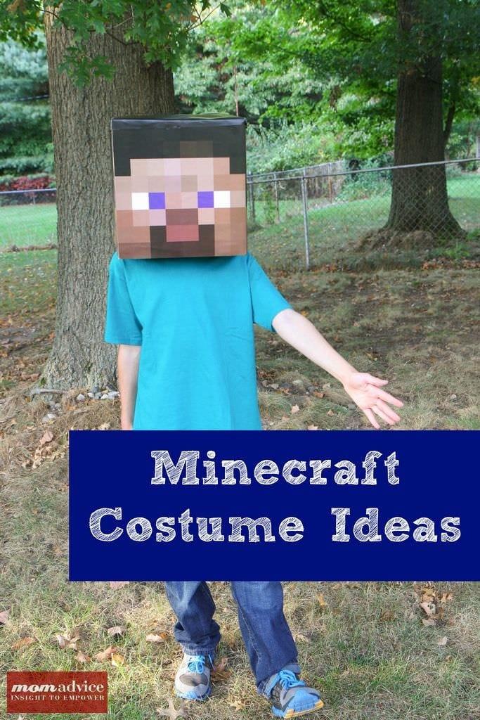 DIY Minecraft Costume Ideas & DIY Minecraft Costume Ideas - MomAdvice