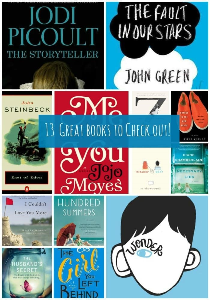 13 Great Books to Check Out in 2013 from MomAdvice.com.
