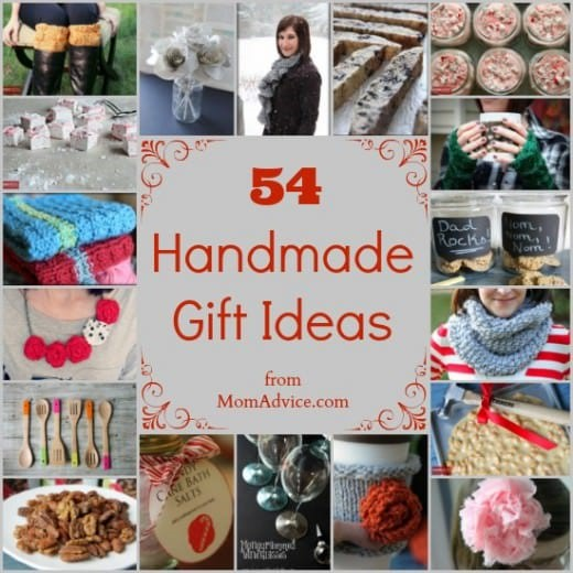 54 Handmade Gift Ideas