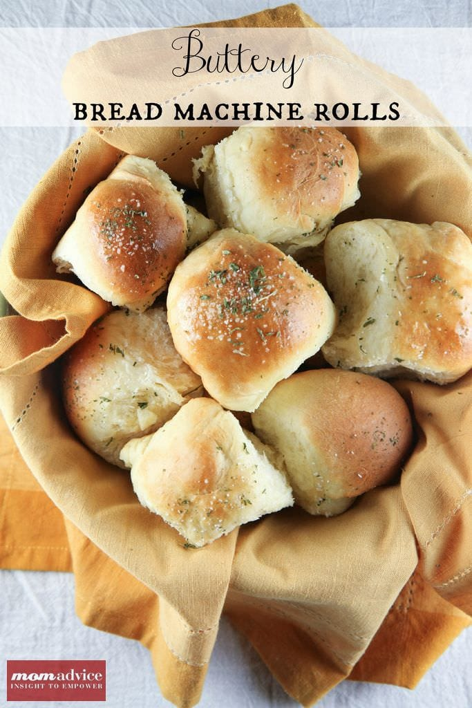 Buttery Dinner Rolls In The Bread Machine Momadvice