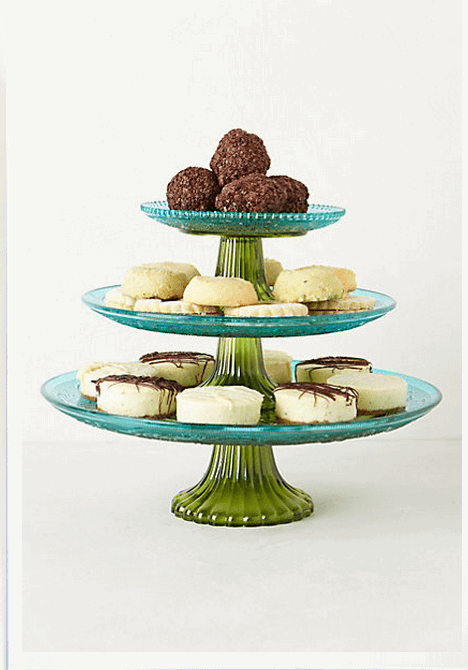 Color-Blocked Cake Stands (Anthropologie)