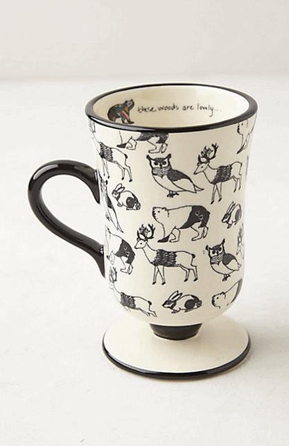 Forest Saunter Mug (Anthropologie)