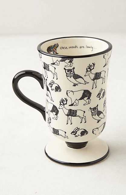 Forest Saunter Mug (Anthropologie)