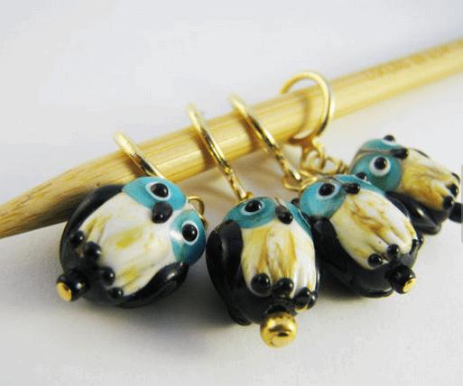 Owl Stitch Markers