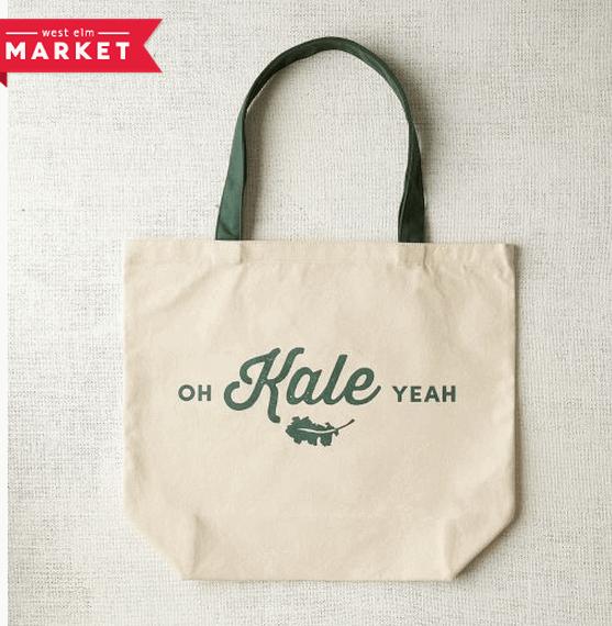 Oh Kale Yeah Market Tote (West Elm)