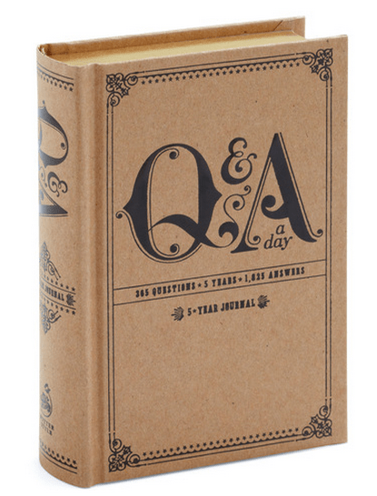 Q&A a Day Journal (Amazon)
