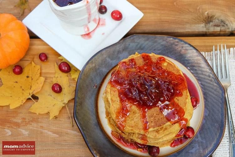 2 Ingredient Cranberry Pancake Syrup